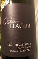 Grüner Veltliner Kalvarienberg 2018, Oskar Hager